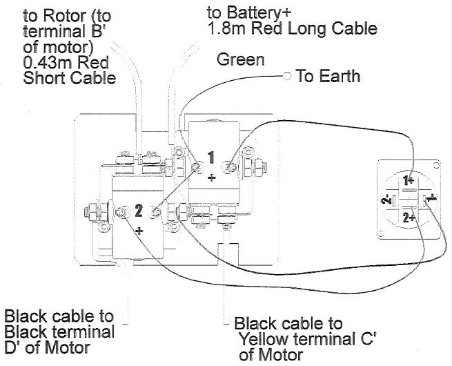 battery connection diagram