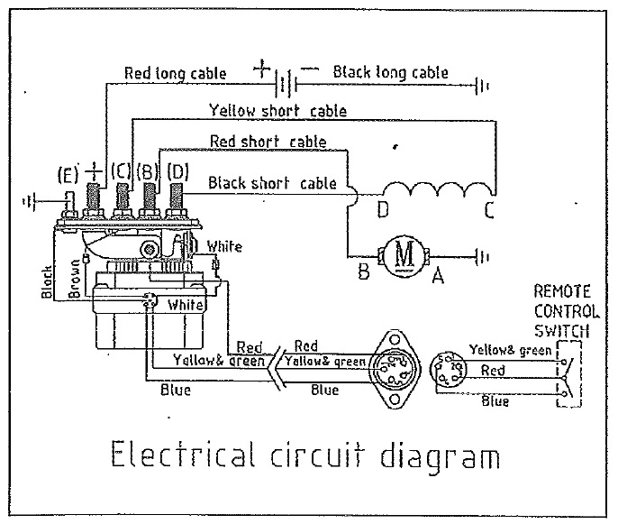 winch controller wiring diagram   31 wiring diagram images