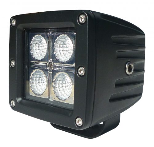 Tuff Gear 80mm x 75mm 16watt LED Driving Light Flood