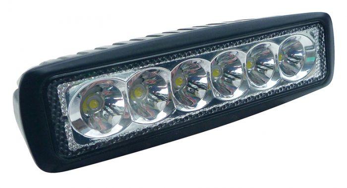 Tuff Gear 160mm x 45mm 18watt LED Driving Light Spot