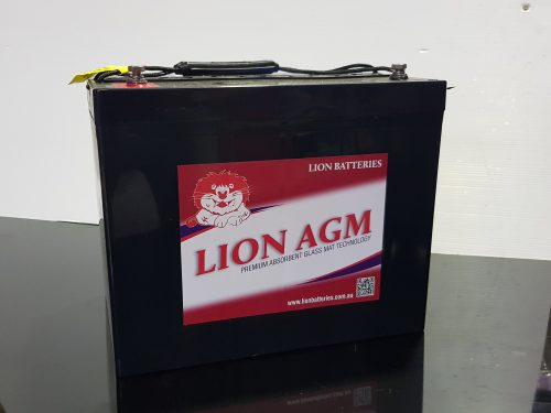Lion AGM (Absorbed Glass Matt) battery 80 A/H (HZBEV12-80)