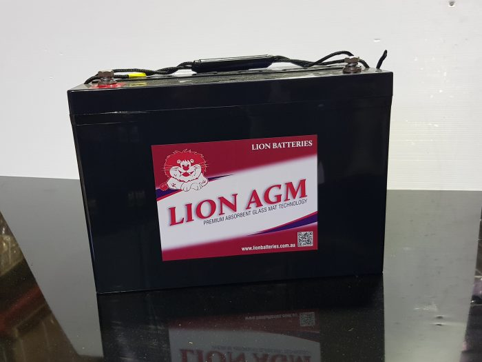 Lion AGM (Absorbed Glass Matt) battery 100 A/H (HZBEV12-100)